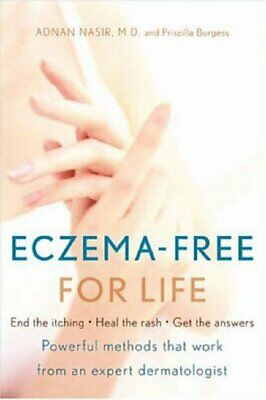 Eczema-Free for Life by Burgess, Priscilla Paperback Book The Cheap Fast Free
