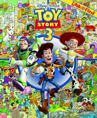 Toy Story 3 Look and Find by Editors of Publications International Ltd. Book The
