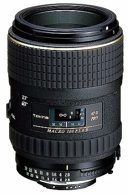 Tokina Macro Lens AT-X M100 PRO D 100mm F2.8 for Canon from Japan New