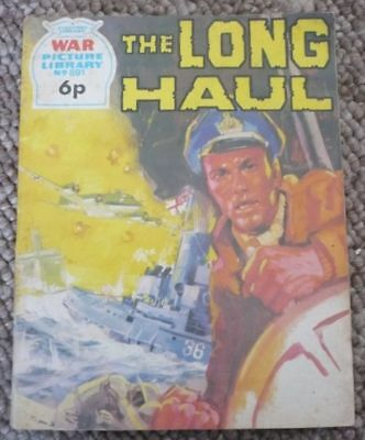 War Picture Library #891: The Long Haul - Fleetway Library (1973)