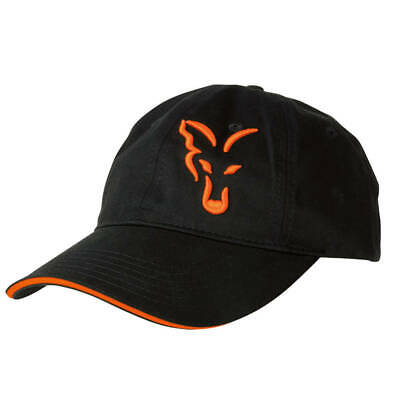Fox Baseball Cap Black Orange Mütze Basecap Neu 2018