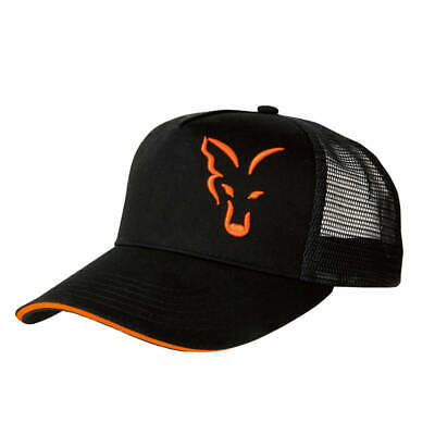 Fox Trucker Cap Black Orange Mütze Basecap Neu 2018