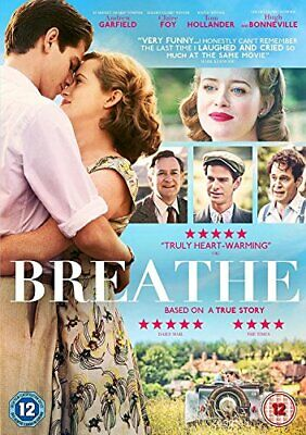 Breathe [DVD] [2017] - DVD  QLVG The Cheap Fast Free Post