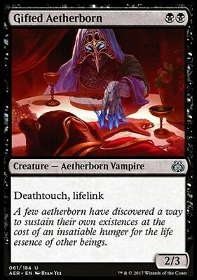 MTG Gifted Aetherborn [English, Aether Revolt, Free P&P]