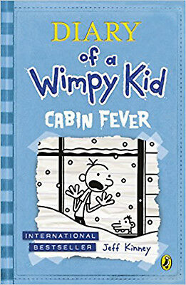 Cabin Fever (Diary of a Wimpy Kid book 6), New, Kinney, Jeff Book
