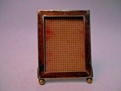 Silver Plated Photo Frame with Ball Feet