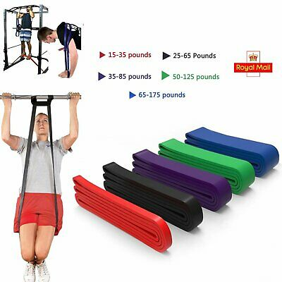 Resistance Exercise Heavy Duty Bands Profi Tube Home Gym Fitness Natural Latex