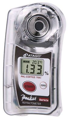 ATAGO Pocket Coffee Cafe Densitometer PAL-COFFEE TDS 22% NEW From JAPAN F/S