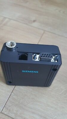 Siemens MC35 GSM Modem terminal with power supply and aerial.