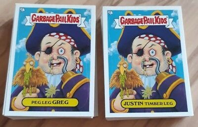 Garbage Pail Kids All New Series 2  2004. Full 80 card a&b set. plus extras