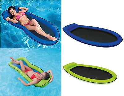 Intex Inflatable Swimming Pool Mesh Mat Beach Lounger Lilo Float Airbed in-water