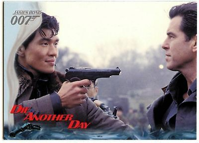 Right Hand Man, Zao #6 Die Another Day 2002 James Bond 007 Trade Card (C1159)