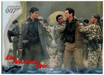 Zao Learns The Truth #8 Die Another Day 2002 James Bond 007 Trade Card (C1159)
