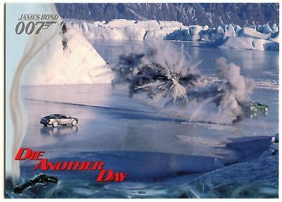 Bond Blasts At Zao #53 Die Another Day 2002 James Bond 007 Trade Card (C1159)