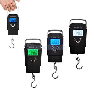 Digital Fishing Scale Electronic Balance Hanging Hook Luggage Weight Scale