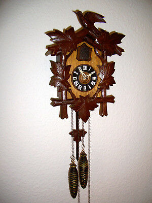 historical medium-sized Black Forest cuckoo clock