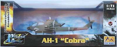 "Easy Model  AH-1F ""Cobra"" Helicopter / Hubschrauber based on german 1:72 Neu/OVP"