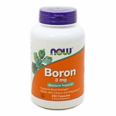 Boron 3Mg by Now Foods - 250 Capsules