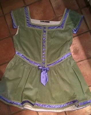 Large boy's Shakespearean tunic and hat, made for Oberon, excellent condition