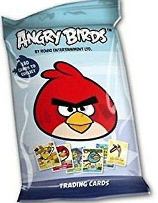 ANGRY BIRDS 9 x PACKS OF TRADING CARDS - 6 CARDS PER PACK NEW SEALED PACKS