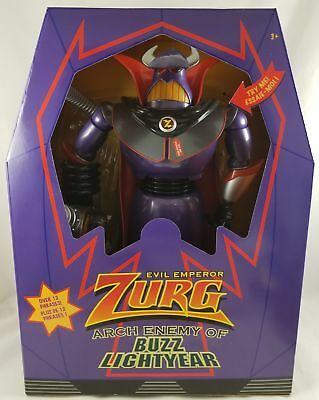 """New Disney Store Toy Story Talking Light-Up Emperor Zurg Action Figure 12"""""""
