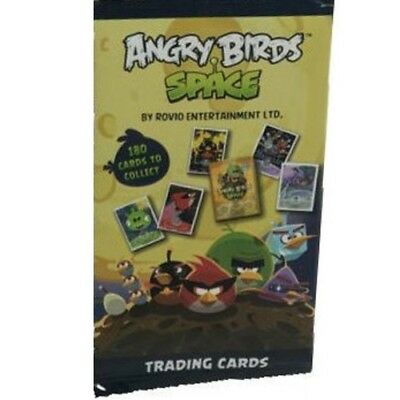 ANGRY BIRDS SPACE 9 x PACKS OF TRADING CARDS - 6 CARDS PER PACK NEW SEALED PACKS