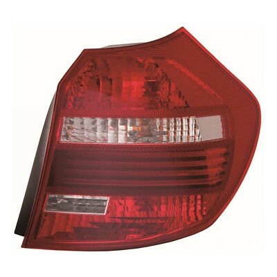 BMW 1 Series E87 5 Door 2//2007-4//2012 Led Rear Light Red /& Smoked Drivers Side