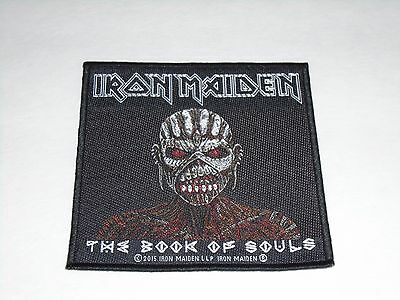 Iron Maiden The Book Of Souls Woven Patch