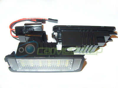 18 Smd LED Rear Number Licence Plate Units Replacement For VW Passat Cc 09+