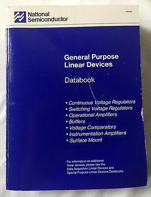 National Semiconductor General Purpose Linear Data Book