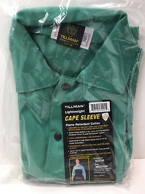 NEW Tillman 6221 M Green Westex Cotton Cape Sleeve Medium Free Shipping