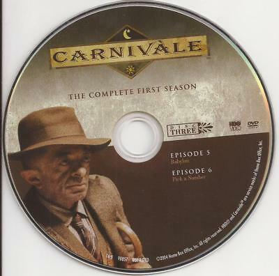 Carnivale HBO (DVD) Season 1 Disc 3 Replacement Disc U.S. Issue Disc Only