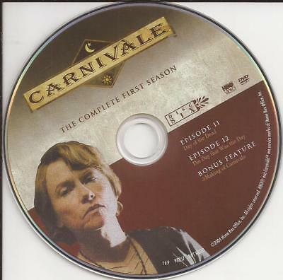 Carnivale HBO (DVD) Season 1 Disc 6 Replacement Disc U.S. Issue Disc Only