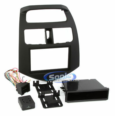 METRA Double DIN Installation Kit for 2013-Up Chevrolet Spark   99-3309B-LC