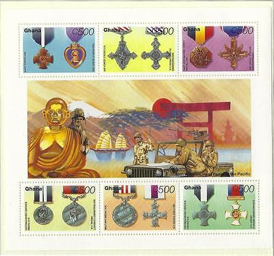 GHANA WORLD WAR ll UNMOUNTED MINT, MNH SG 2196-2201