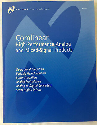National Semiconductor Comlinear High-Performance Analog & Mixed–Signal Products
