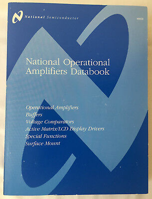 National Semiconductor Operational Amplifiers Data Book