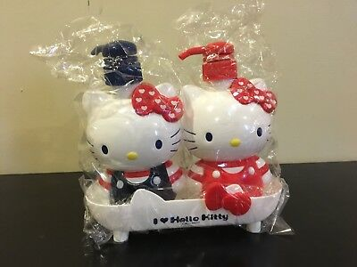 New Sanrio Hello Kitty Large Bath Pump Dispenser Shampoo Liquid Soap 500 Ml