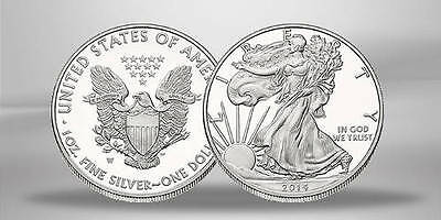Usa 1 Dollar 2014 Pp American Eagle Argent 1 Once