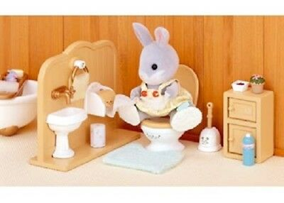 Sylvanian Families Play Set - Toilet Set