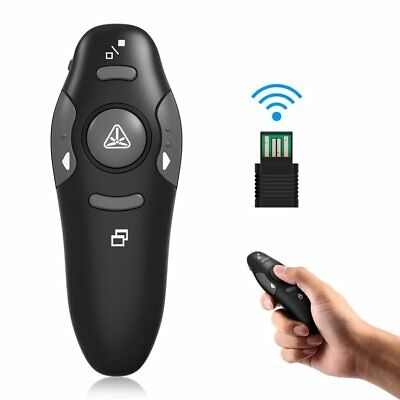 2.4GHz Wireless USB PowerPoint Presenter RF Remote Control Laser Pointer Pen
