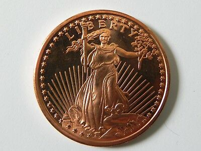 999 Fine Copper Rounds 1 AVDP oz Trade Dollar Design- Mix or Match 2012-2