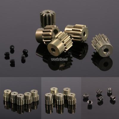 New 32DP 3.175mm Pinion Motor Gear Set for 1/10 RC Car Brushed Brushless WST