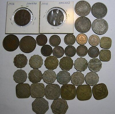India British coin collection