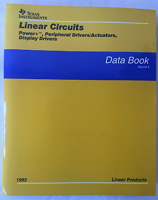 Texas Instruments Linear Data Book