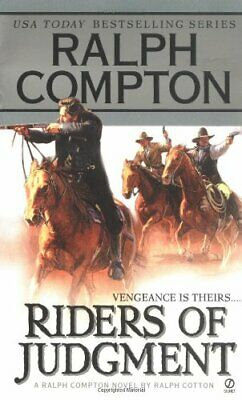 Ralph Compton Riders of Judgment by Compton, Ralph Book The Cheap Fast Free Post