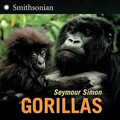 Gorillas by Simon, Seymour Paperback Book The Cheap Fast Free Post