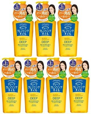 7 pcs KOSE Softymo Deep Cleansing Oil 230mL from Japan