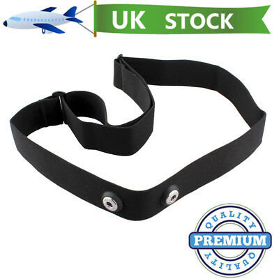 Soft Heart Rate Monitor Sensor Strap Chest Belt for Polar Wahoo GARMIN Endomondo