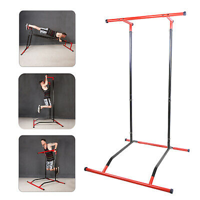 Multifunktioneller Klimmzugstange Pull Up Rack Bar Stand Krafttraining Stange